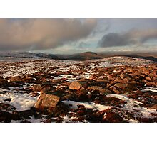 Looking North From Croaghnageer Photographic Print