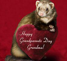 Grandparents Day Grandma Ferret by jkartlife