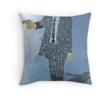 Jules from Pulp Fiction Typography Quote Design Throw Pillow