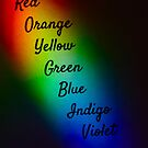 ROY G. BIV by Kent Nickell
