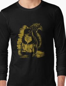 Gold Squirrel Long Sleeve T-Shirt