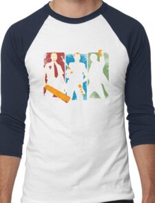 Blood and Ice Cream  Men's Baseball ¾ T-Shirt