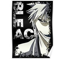 Ichigo White Bankai, Bleach Anime and Manga Poster