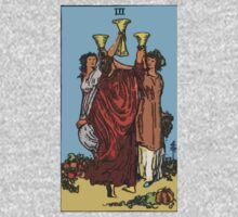 Tarot- Three of Cups by cadellin