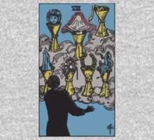 Tarot- Seven of Cups by cadellin