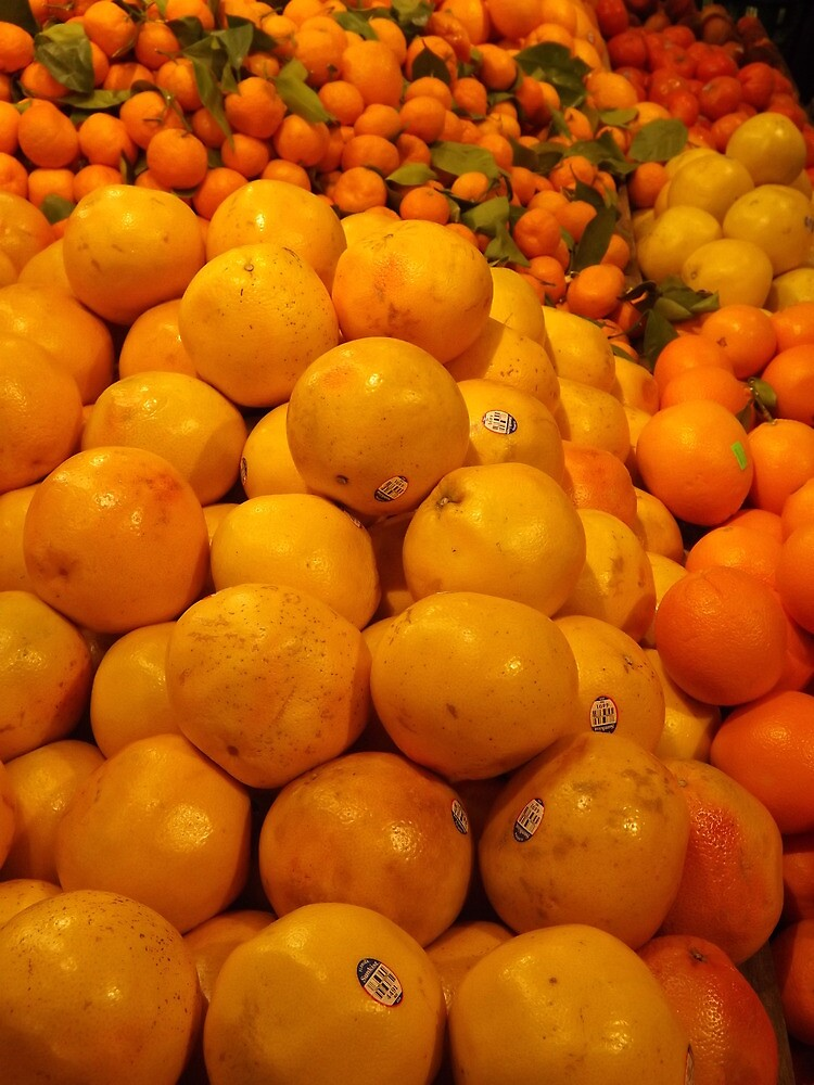 Colorful Fruit, Whole Foods, Columbus Circle, New York City by lenspiro