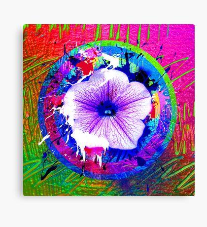 project Flower Canvas Print