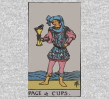 Tarot- Page of Cups by cadellin