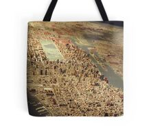 New York City Panorama, Scale Model of New York City, Queens Museum, Queens, New York  Tote Bag