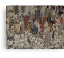 Empire State Building,  New York City Panorama, Scale Model of New York City, Queens Museum, Queens, New York  Canvas Print