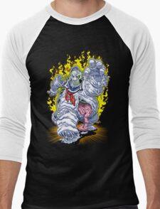 BURNING MAN Men's Baseball ¾ T-Shirt