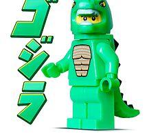LEGO Godzilla by jarodface