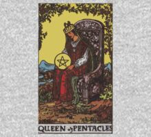 Tarot- Queen of Pentacles by cadellin