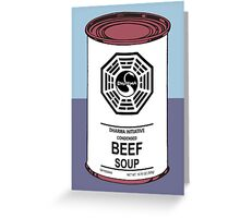 Dharma Beef Soup Greeting Card
