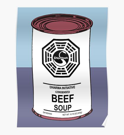 Dharma Beef Soup Poster