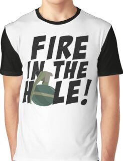 CSGO: Fire in the Hole! Graphic T-Shirt