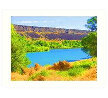 """Snake River"" by Carter L. Shepard Art Print"