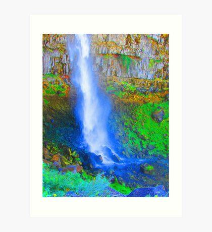 """""""Snake River Canyon Falls"""" by Carter L. Shepard Art Print"""