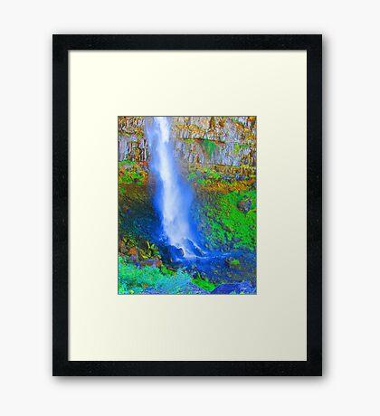 """Snake River Canyon Falls"" by Carter L. Shepard Framed Print"
