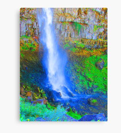 """Snake River Canyon Falls"" by Carter L. Shepard Canvas Print"
