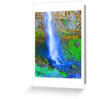 """Snake River Canyon Falls"" by Carter L. Shepard Greeting Card"