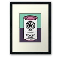 Dharma Noodle Soup Framed Print