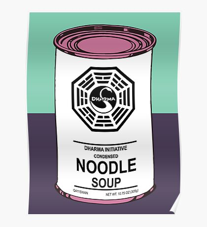 Dharma Noodle Soup Poster
