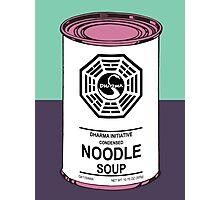 Dharma Noodle Soup Photographic Print