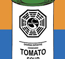 Dharma Tomato Soup Can by darrster