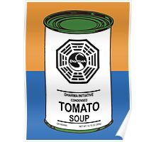 Dharma Tomato Soup Can Poster