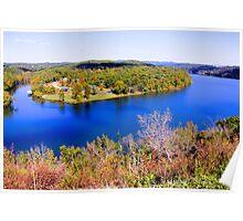 Table Rock Lake, Branson, Missouri. Poster