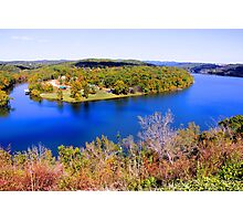 Table Rock Lake, Branson, Missouri. Photographic Print