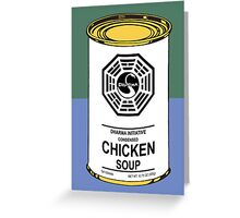 Dharma Noodle Soup Can Greeting Card