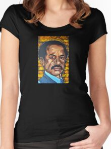 George Jefferson  Women's Fitted Scoop T-Shirt