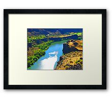 """Snake River Canyon"" by Carter L. Shepard Framed Print"