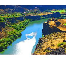 """Snake River Canyon"" by Carter L. Shepard Photographic Print"