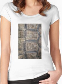 Tortoise Shell Women's Fitted Scoop T-Shirt