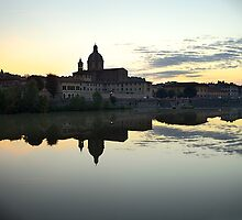 Reflection in Arno  by BeaMe