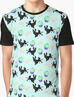 Inky Bunny Graphic T-Shirt