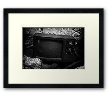 Sears TV Framed Print