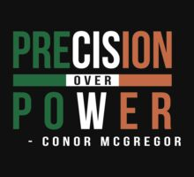 Precision Over Power - Conor McGregor by omniagraphics