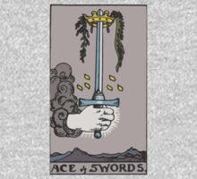 Tarot- Ace of Swords by cadellin