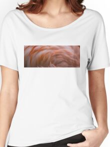 Flamingo Feathers Women's Relaxed Fit T-Shirt