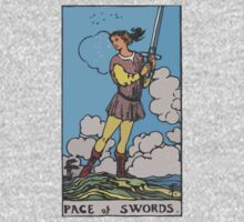 Tarot- Page of Swords by cadellin