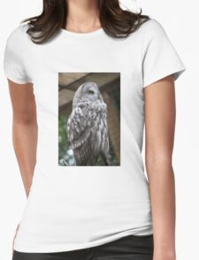 Owl #2 Womens Fitted T-Shirt