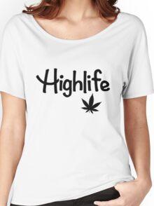 Highlife Shirt (Dark) Women's Relaxed Fit T-Shirt