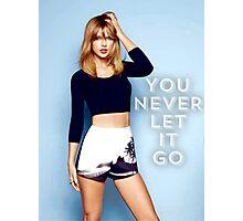 Never Let It Go Photographic Print