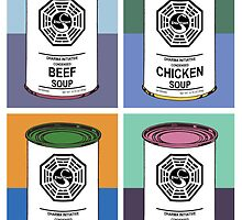 Dharma Initiative Soup Cans by darrster