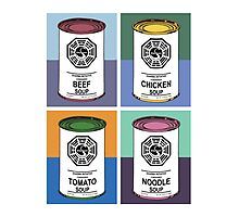Dharma Initiative Soup Cans Photographic Print