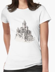 Castle Womens Fitted T-Shirt